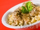 Рецепта Паста с кюфтенца